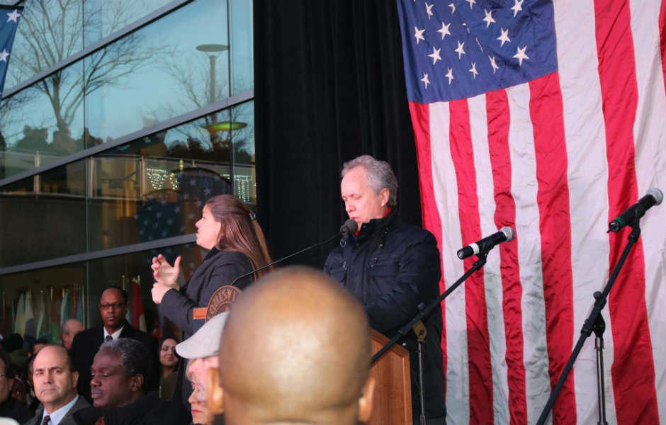 Mayor Rally for American values