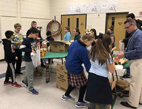 Highlights from Blessings in a Backpack Service Project