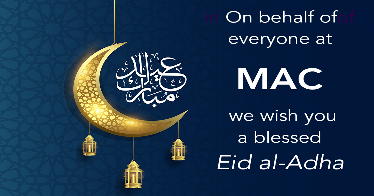Happy Eid al-Adha from MAC