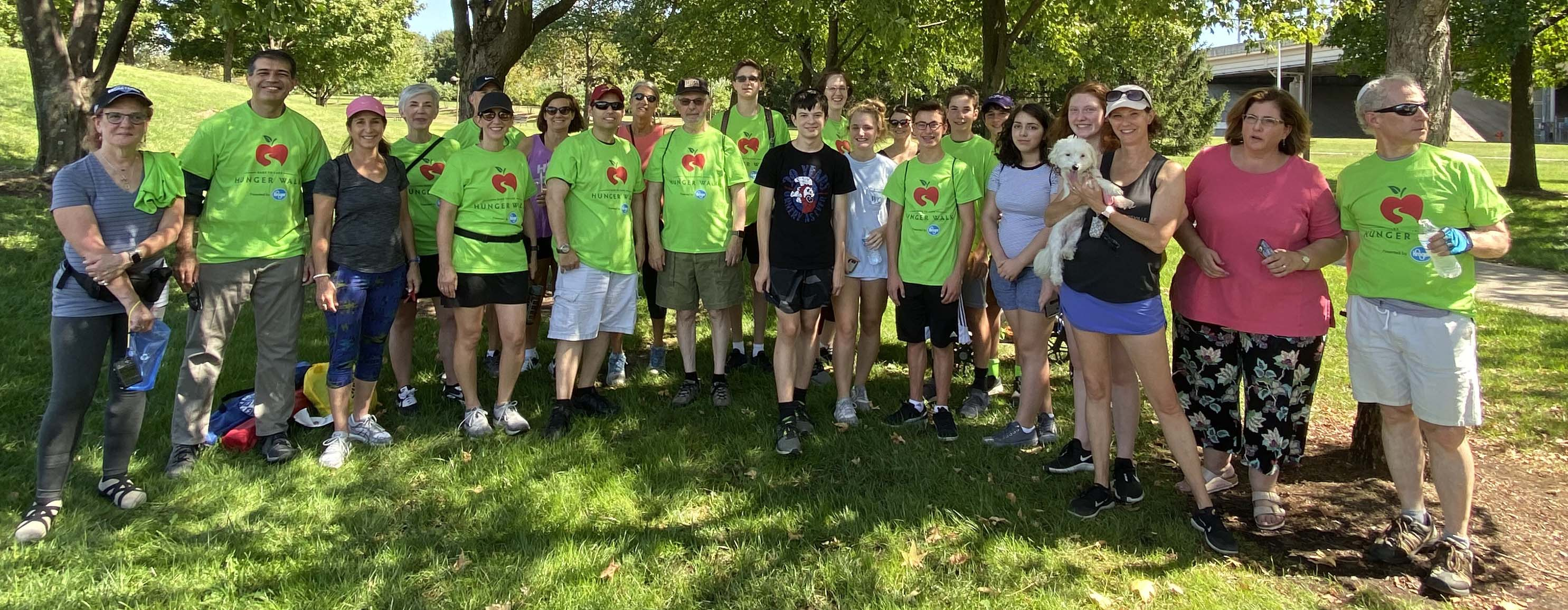 MAC Dares to Care at 2019 Hunger Walk