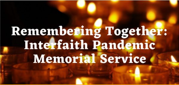 Dr. Babar Speaks at Interfaith Pandemic Memorial